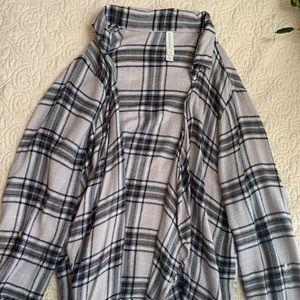 Aeropostale Flannel Jacket Soft
